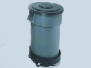 30 GALLON TRASH BARREL W/LINER