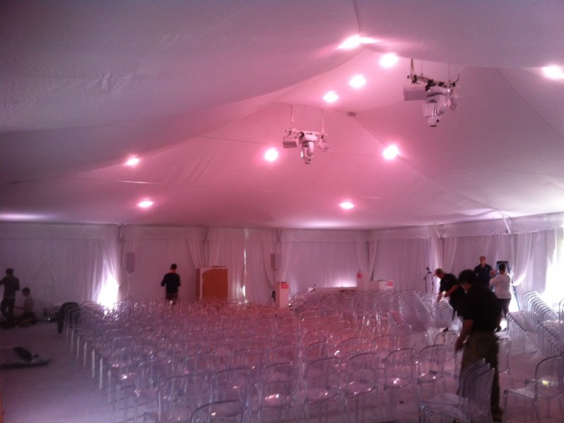 & Interior Tent Decorations | Chase Canopy Company