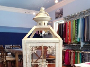 White Antique Lanterns