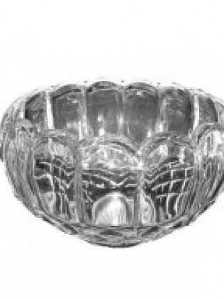 Glass punch Bowl 12""