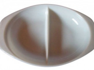 "11"" Plastic Vegetable Bowl"
