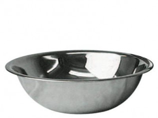 "22"" Stainless Steel 30 qt. Bowl"