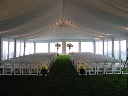 clear sidewalls - Gray Canopy Decoration