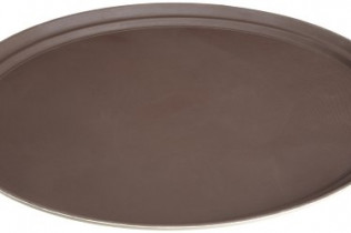 "24"" Rubber Oval Serving Tray"