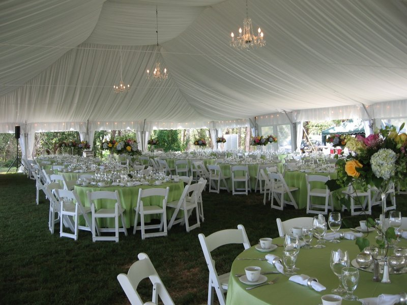 Wedding Tent Decorations Fabric