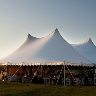 Décor in a Tent - How to get the biggest bang for your buck!